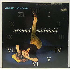 レコード画像:JULIE LONDON / Around Midnight
