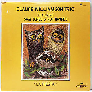 レコード画像:CLAUDE WILLIAMSON / La Fiesta