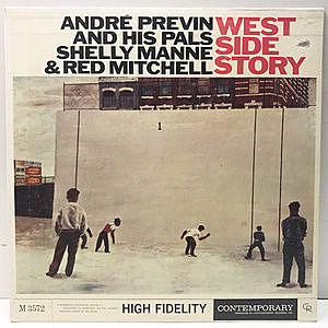 レコード画像:ANDRE PREVIN / West Side Story