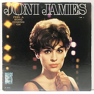 レコード画像:JONI JAMES / I Feel A Song Coming On