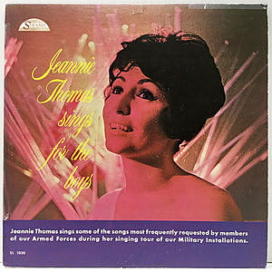 レコード画像:JEANNIE THOMAS / Sings For The Boys
