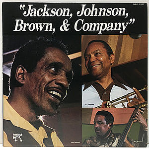 レコード画像:MILT JACKSON / J.J. JOHNSON / RAY BROWN / Jackson, Johnson, Brown & Company