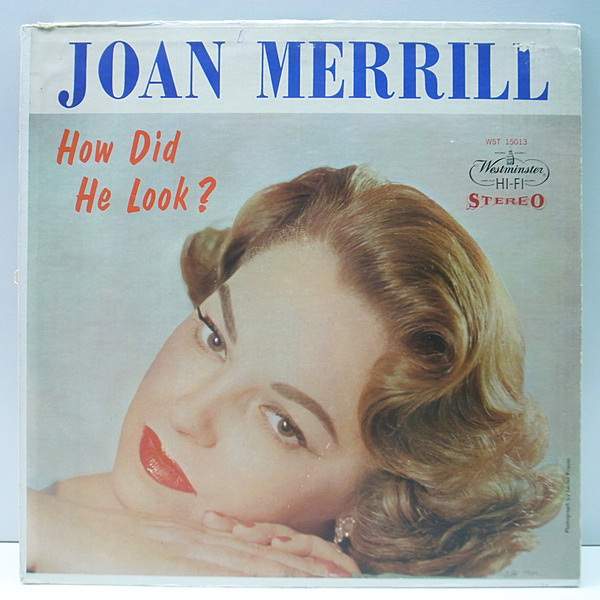 JOAN MERRILL / How Did He Look? (LP) / Westminster | WAXPEND RECORDS