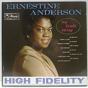 レコード画像:ERNESTINE ANDERSON / My Kinda Swing