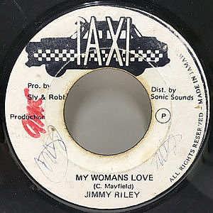 レコード画像:JIMMY RILEY / My Woman's Love