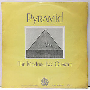 レコード画像:MODERN JAZZ QUARTET / Pyramid