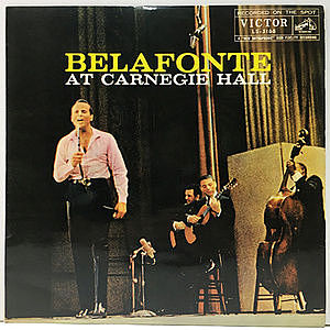 レコード画像:HARRY BELAFONTE / At Carnegie Hall