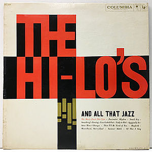 レコード画像:HI-LO'S / And All That Jazz