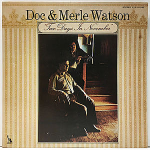 レコード画像:DOC & MERLE WATSON / Two Days In November