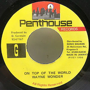 レコード画像:WAYNE WONDER / On Top Of The World