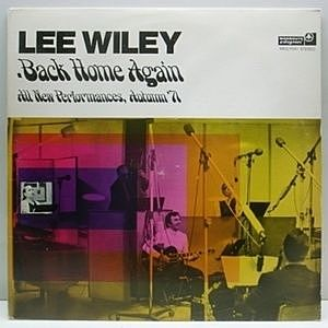 レコード画像:LEE WILEY / Back Home Again