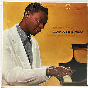 レコード画像:NAT KING COLE / The Piano Style Of Nat 'King' Cole
