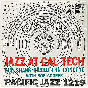 レコード画像:BUD SHANK / BOB COOPER / Jazz At Cal-Tech