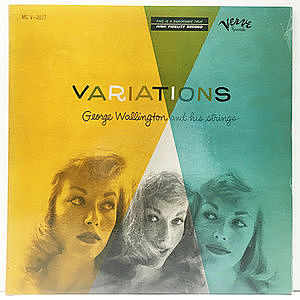 レコード画像:GEORGE WALLINGTON / Variations