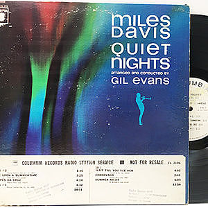 レコード画像:MILES DAVIS / Quiet Nights