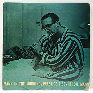 レコード画像:HERBIE MANN / Mann In The Morning