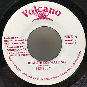 レコード画像:PRESLEY / Right Here Waiting