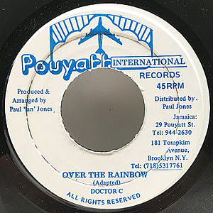 レコード画像:DOCTOR C / Over The Rainbow