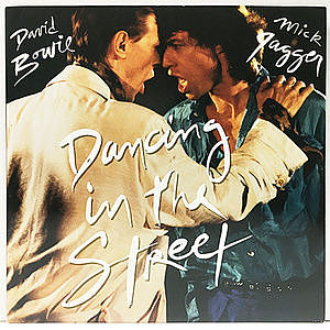 レコード画像:DAVID BOWIE / MICK JAGGER / Dancing In The Street