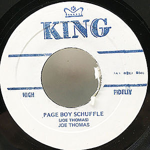 レコード画像:JOE THOMAS / MARVIN & JOHNNY / Page Boy Shuffle / Tick Tock
