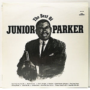 レコード画像:JUNIOR PARKER / The Best Of