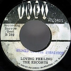 レコード画像:ESCORTS / Sixpence / Loving Feeling