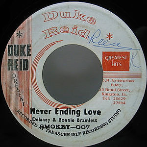 レコード画像:SMOKEY 007 / Never Ending Love / Good Old Song