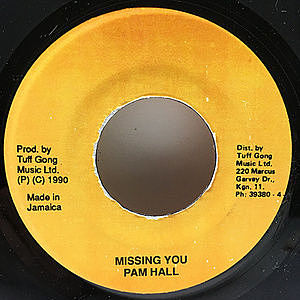 レコード画像:PAM HALL / Missing You