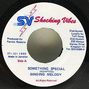 レコード画像:SINGING MELODY / Something Special