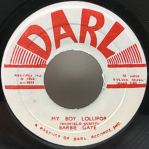 レコード画像:BARBIE GAYE / My Boy Lollipop / Say You Understand