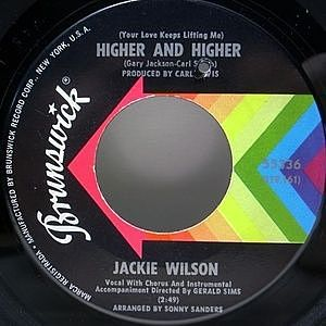 レコード画像:JACKIE WILSON / Higher And Higher / I'm The One To Do It