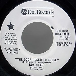 レコード画像:ROY HEAD / The Door I Used To Close
