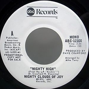 レコード画像:MIGHTY CLOUDS OF JOY / Mighty High