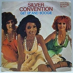 レコード画像:SILVER CONVENTION / Get Up And Boogie / Son Of A Gun