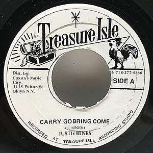 レコード画像:JUSTIN HINES / Carry Go Bring Come / Hey Mama