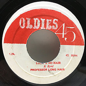 レコード画像:PROFESSOR LONGHAIR / Looka, No Hair / Baby Let Me Hold Your Hand