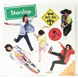 レコード画像:STARSHIP / We Built This City
