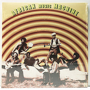 レコード画像:AFRICAN MUSIC MACHINE / Black Water Gold