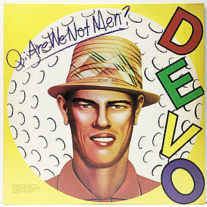 レコード画像:DEVO / Q: Are We Not Men? A: We Are Devo!