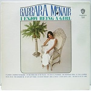 レコード画像:BARBARA MCNAIR / I Enjoy Being a Girl