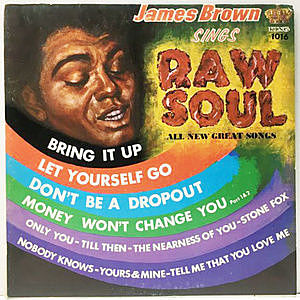 レコード画像:JAMES BROWN / Sings Raw Soul