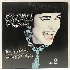 レコード画像:SWING OUT SISTER / Breakout Vol.2