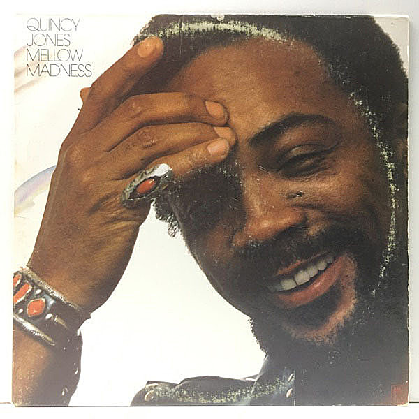 レコードメイン画像:良盤!! KENDUN刻印 USオリジナル QUINCY JONES Mellow Madness ('75 A&M) My Cherie Amour ほか LEON WARE, MINNIE RIPERTON 参加
