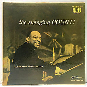 レコード画像:COUNT BASIE / The Swinging Count