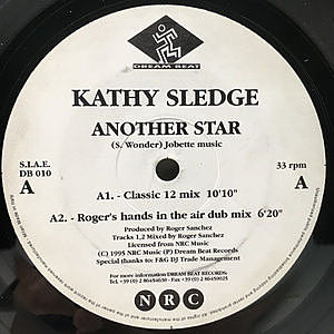 レコード画像:KATHY SLEDGE / Another Star