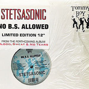 レコード画像:STETSASONIC / No B.S. Allowed / Uda Man