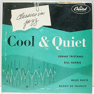 レコード画像:VARIOUS / LENNIE TRISTANO / MILES DAVIS / Cool & Quiet