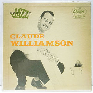 レコード画像:CLAUDE WILLIAMSON / Kenton Jazz Presents 〜