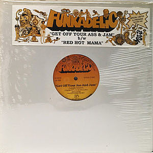 レコード画像:FUNKADELIC / Get Off Your Ass And Jam / Red Hot Mama