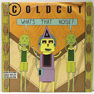 レコード画像:COLDCUT / What's That Noise?